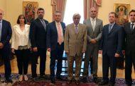 Συνάντηση της Ένωσης Νοσηλευτών Ελλάδος με την Α.Ε. Πρόεδρο της Δημοκρατίας Κύριο Προκόπιο Παυλόπουλο