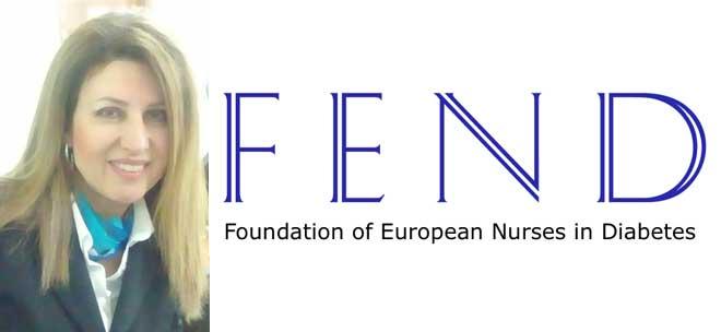 Εκλογή της Προέδρου του Επιστημονικού Τομέα Ενδοκρινολογικής και Διαβητολογικής Νοσηλευτικής της Ε.Ν.Ε. στο Διοικητικό Συμβούλιο της F.E.N.D. (Foundation of European Nurses in Diabetes)