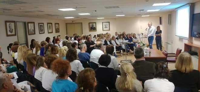 Εκδήλωση στο Γ.Ν.Π. Τζάνειο για τον εορτασμό της Διεθνούς Ημέρας Νοσηλευτή με θέμα: