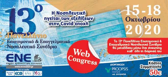 13ο Πανελλήνιο επιστημονικό & Επαγγελματικό Νοσηλευτικό Συνέδριο - Βιβλίο Περιλήψεων