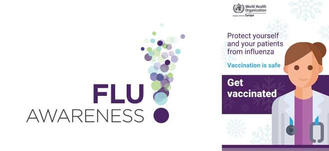W.H.O. / Europe campaigns: Εβδομάδα ευαισθητοποίησης για τη γρίπη 2020