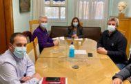 Συνάντηση μελών του Διοικητικού Συμβουλίου της Ε.Ν.Ε. με την Υφυπουργό Υγείας κ. Ζωή Ράπτη