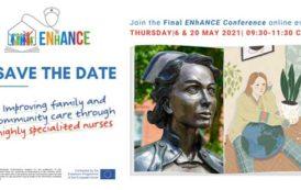 Ευρωπαϊκό Πρόγραμμα Σπουδών για Οικογενειακή και Κοινοτική Νοσηλευτική ENhANCE: Τελική παρουσίαση αποτελέσματων προγράμματος 6 & 20 Μαίου 2021