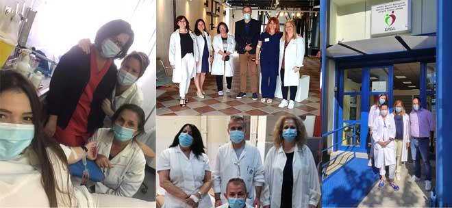 Οι Νοσηλευτές ΑΙΜΟΔΟΤΗΣΑΝ το Εθνικό Σύστημα Υγείας στη 2η Πανελλαδική Εθελοντική Αιμοδοσία