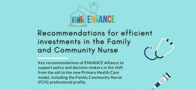 Πρόγραμμα Σπουδών για Οικογενειακούς και Κοινοτικούς Νοσηλευτές ENhANCE: Newsletter #4 - Summer 2021